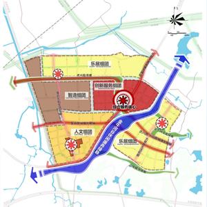谷里街道(新市镇)详细规划来了!