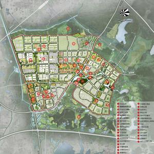 未来可期!谷里街道(新市镇)详细规划来了!
